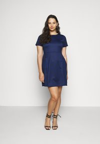 CAPSULE by Simply Be - POCKET SHIFT - Kjole - navy - 1