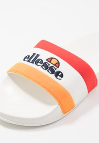 Ellesse - BORGARO - Ciabattine - orange/white/red - 5