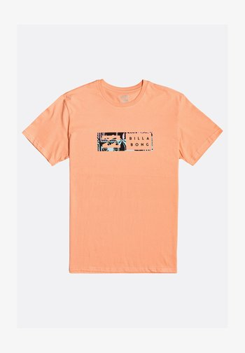 INVERSED - Print T-shirt - dusty orange