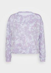 HIGH LOW - Mikina - lavender acid