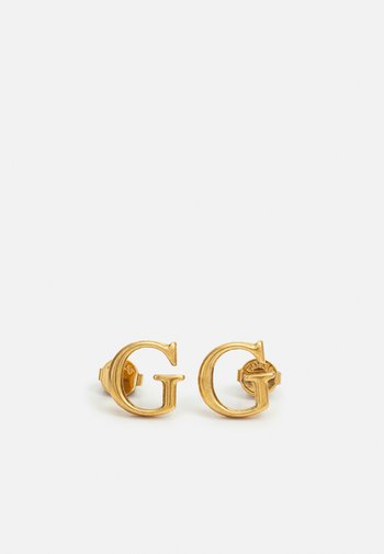 Earrings - antique gold-coloured