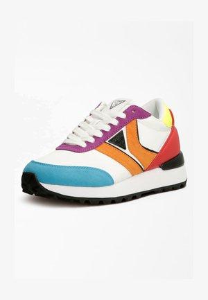 Sneakersy niskie - mehrfarbig, weiß