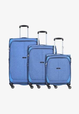 3 SET - Set de valises - blue