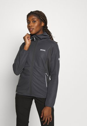 WOMENS TEROTA - Fleece jacket - seal grey