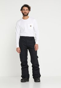 Brunotti - FOOTSTRAP MEN SNOWPANTS - Snow pants - black - 3