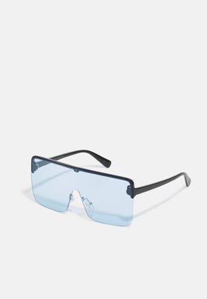 JACTINKO  SUNGLASSES - Okulary przeciwsłoneczne - black/light blue solid