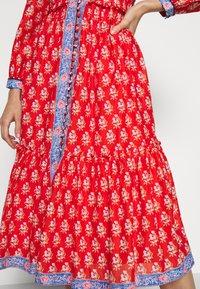 J.CREW - DRESS IN BLOCKPRINT - Košilové šaty - cerise cove/multi - 6