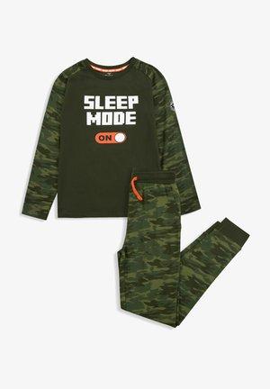 SCHLAFANZUG SET MARSEILLE - Pyjama - green