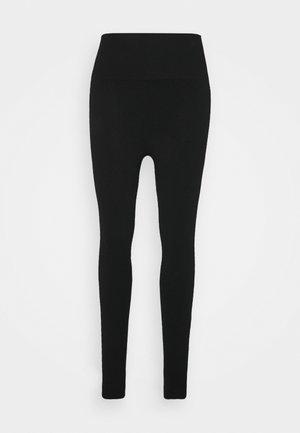 MINDFUL SEAMLESS YOGA LEGGINGS  - Leggings - black