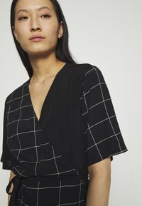 JUST FEMALE - HALLE WRAP DRESS - Maxi dress - dark blue - 3
