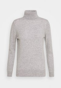 Davida Cashmere - TURTLENECK - Sweter - light grey - 0