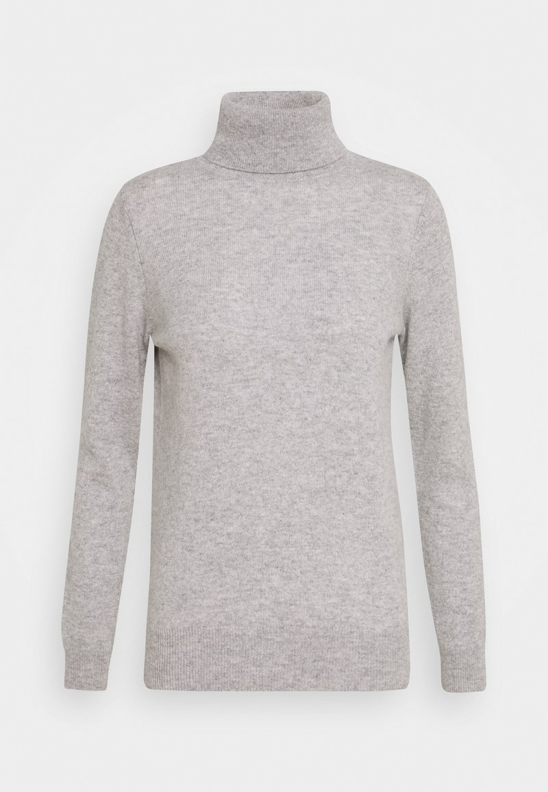 Davida Cashmere - TURTLENECK - Sweter - light grey