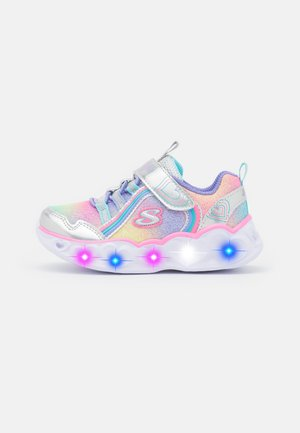 HEART LIGHTS - Sneakers - silver/multicolor