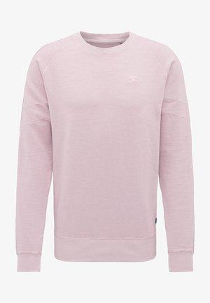 Sweatshirt - light cranberry