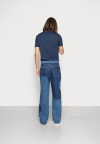 Jaded London - BLUE YIN AND YANG CUT AND SEW - Jeans relaxed fit - blue - 2