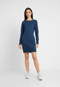 Ragwear - MENITA - Korte jurk - denim blue - 2