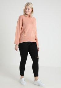 Even&Odd Curvy - Jeans Skinny Fit - schwarz - 1
