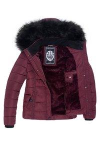 Navahoo - MIAMOR - Winter jacket - wine red - 4