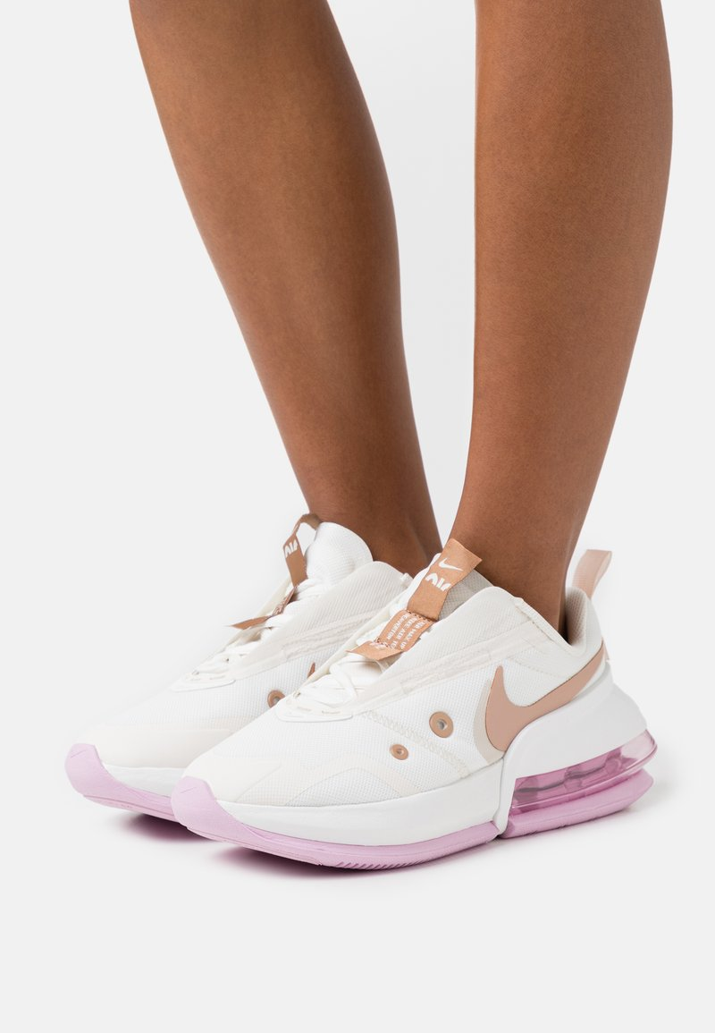 Nike Sportswear - AIR MAX UP - Trainers - sail/metallic red bronze/light orewood brown/summit white/light arctic pink/metallic summit white