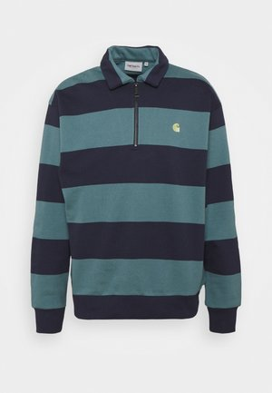HALF ZIP ALVIN - veste en sweat zippée - alvin stripe space