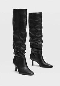 Stradivarius - Boots - Black - 2
