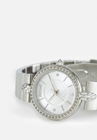 Just Cavalli - SILVER LION WATCH - Watch - silver-coloured sunray - 5
