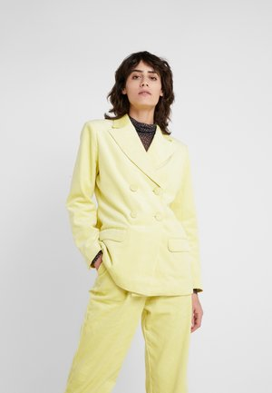 SASKIA - Blazer - lemon grass
