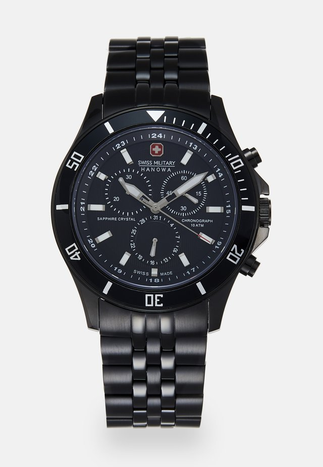 FLAGSHIP CHRONO II - Chronograph watch - black
