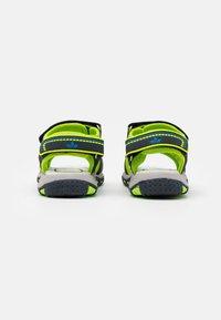LICO - LUCA - Walking sandals - marine/lemon/blau - 2