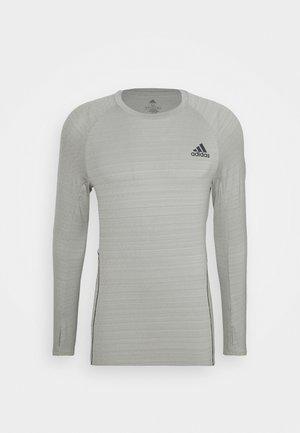 RUNNER - Sports shirt - metgrey
