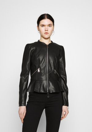 VMAVERYALLY JACKET - Imitatieleren jas - black