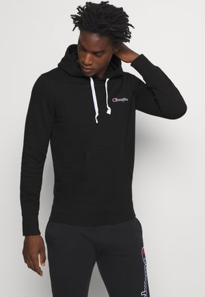 ROCHESTER HOODED  - Bluza z kapturem - black