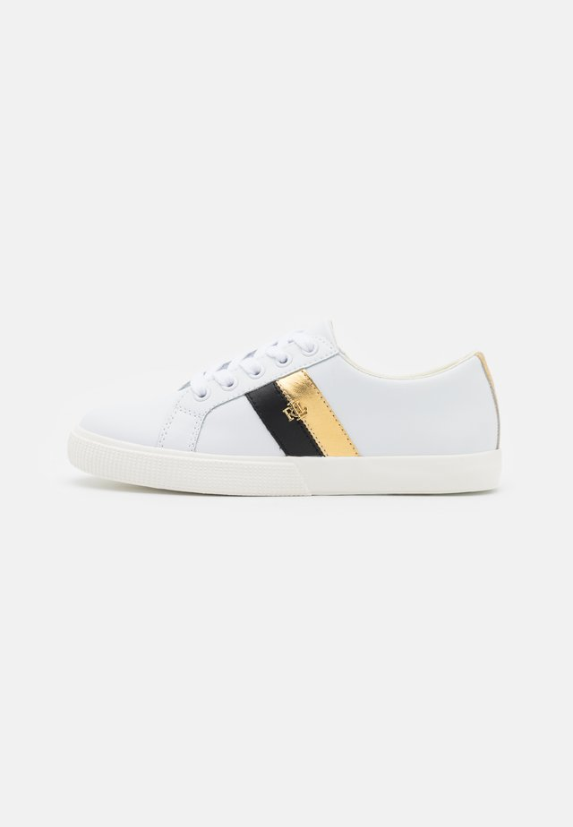 ACTION JANSON - Sneakers laag - white/black