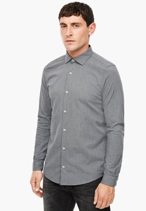 Shirt - light grey check
