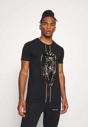 HATHIAN  - Print T-shirt - black