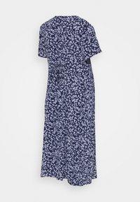 Cotton On - BUTTON FRONT MIDI DRESS - Košilové šaty - medieval blue - 1