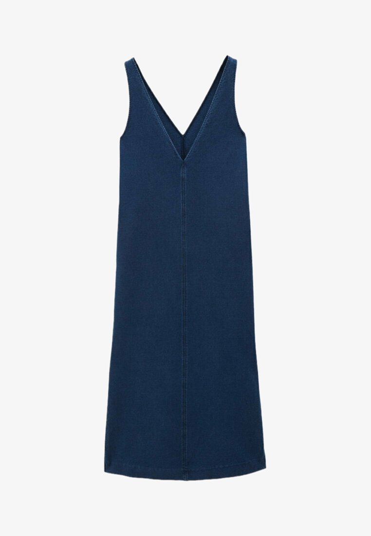 Massimo Dutti - Denim dress - blue