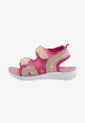 Walking sandals - fuschia