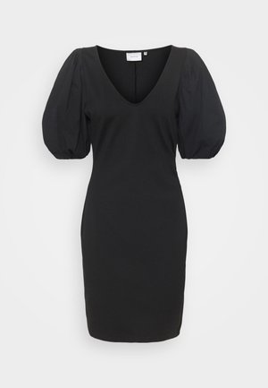NEMA DRESS - Jersey dress - black