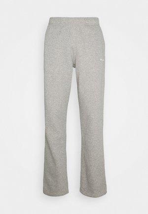 LEGACY STRAIGHT HEM PANTS - Verryttelyhousut - mottled grey