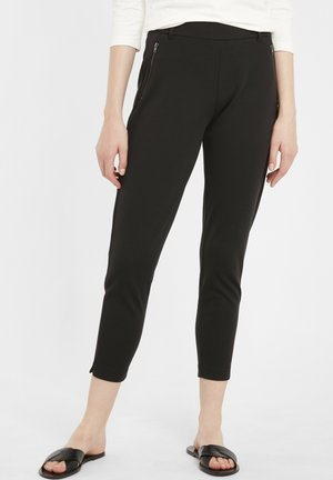 IHKATE ZIP PA - Trousers - black