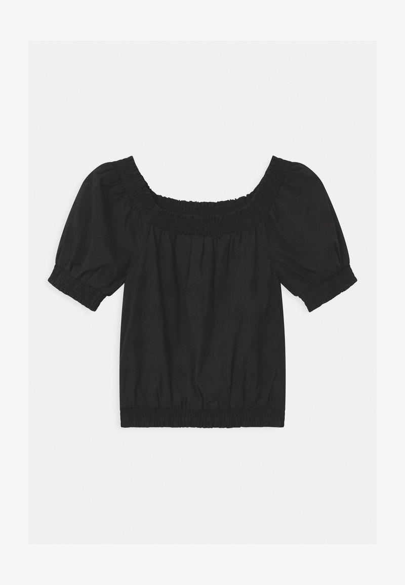 Cotton On - SASHA BRODERIE - Bluse - black