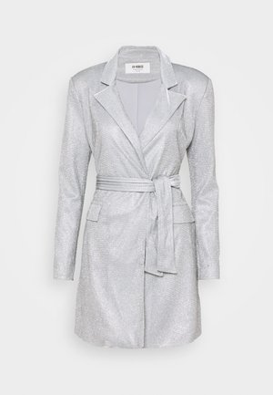 JUNO DRESS - Cocktailkjole - silver metallic