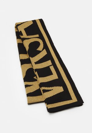 UNISEX - Scarf - black/gold-coloured