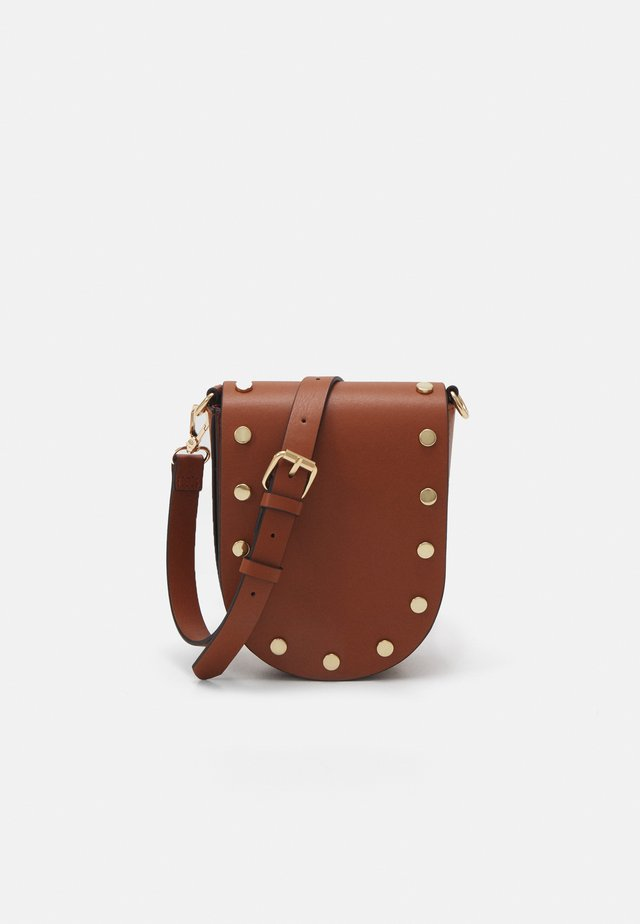 CROSS SHOULDER JENNIE - Across body bag - brown