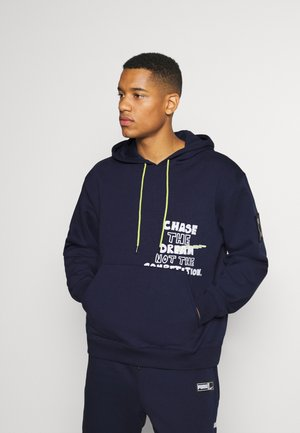 FRANCHISE HOODIE - Sweat à capuche - peacoat