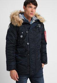 Alpha Industries - AIRBORNE - Winter coat - rep blue - 4