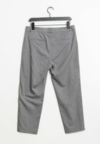 s.Oliver BLACK LABEL - Trousers - grey - 1