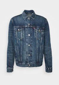 WELLTHREAD TRUCKER - Denim jacket - azurite indigo