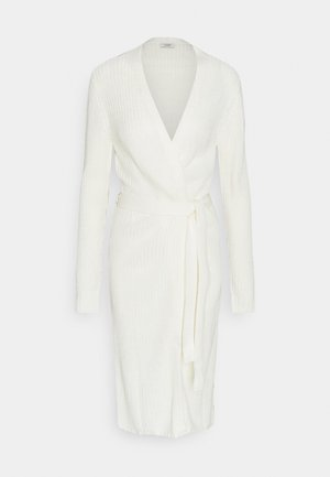 JDYGURLI BELT CARDIGAN - Gilet - off-white
